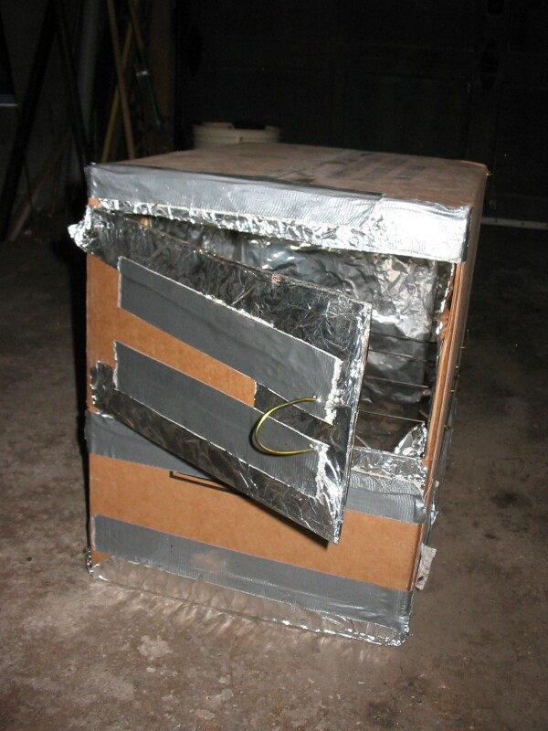 How Aluminum Is Made >> Cardboard Box Oven